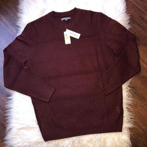GEOFFREY BEENE men's crew neck sweater Medium NWT